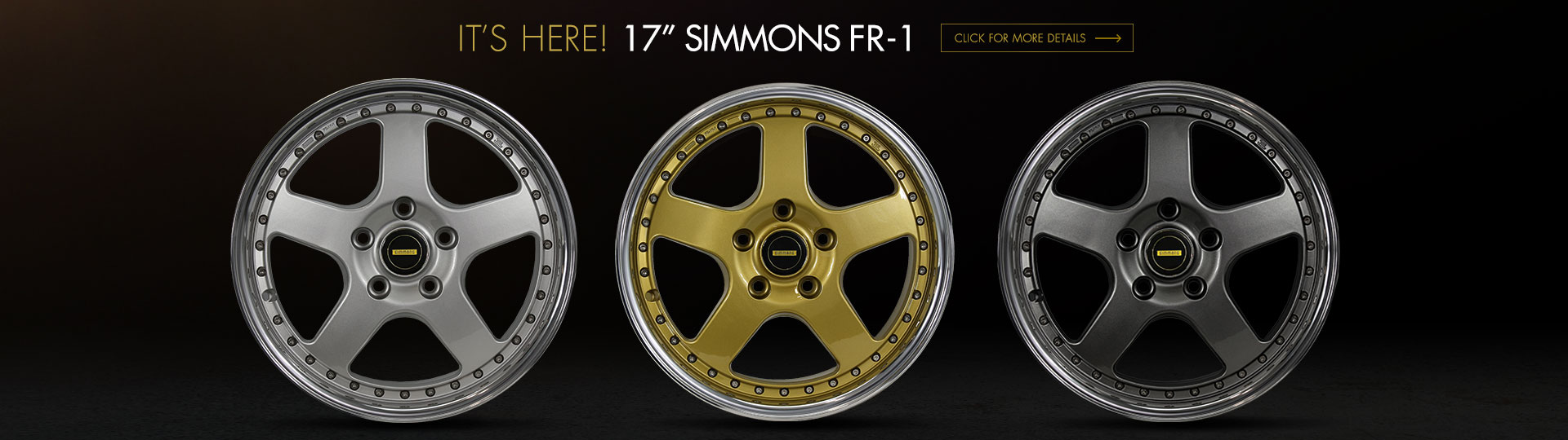 Simmons Wheels New Zealand - FR1 series available now